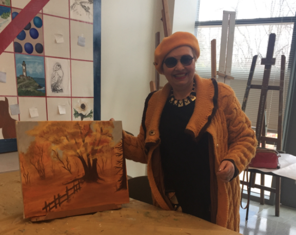 Maia Sreseli-Hodge artist 12-26-17