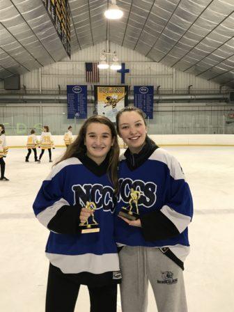 Nina Stoops Hockey School team