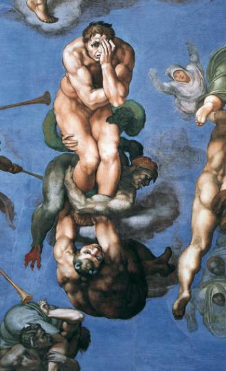 Armageddon related Michelangelo Last Judgment 18-01-02
