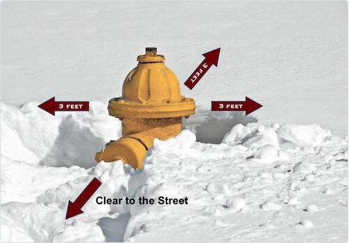 Fire Hydrant storm CT Fire Academy 18-01-04