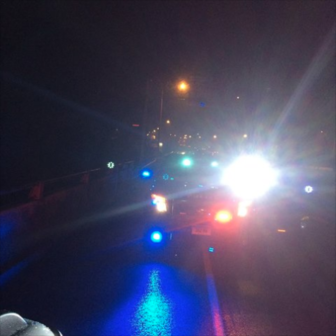 Police lights Norwalk Police photo on Facebook 18-01-10