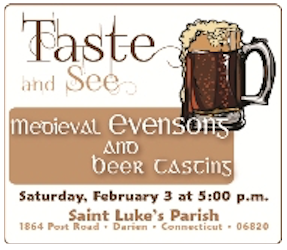 Medieval Evensongs and Beer Tasting St Luke's Chior