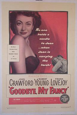 Good-bye My Fancy movie poster 1951