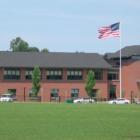 Darien High School fields building