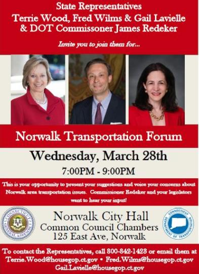 Transportation public meeting poster