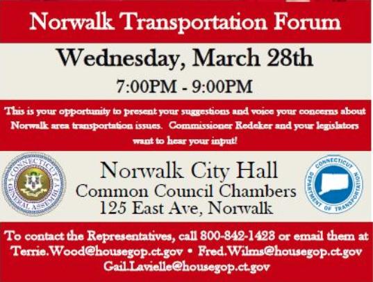 Flyer Transportation public meeting