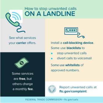 Landline Unwanted Calls FTC