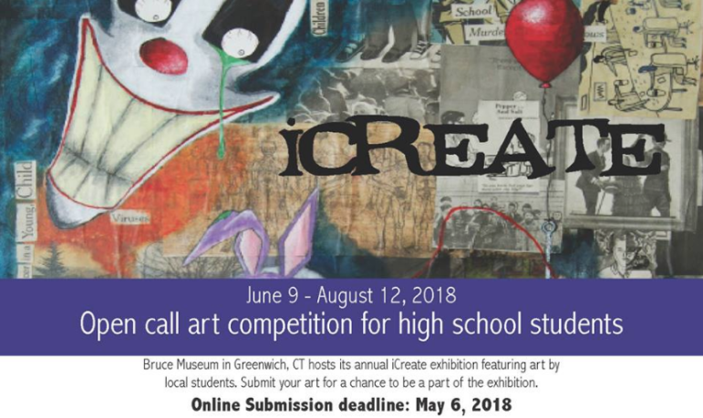 iCreate art competition Bruce Museum
