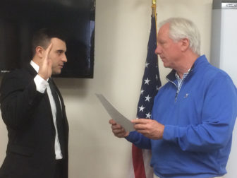 Steven Costantini swearing in