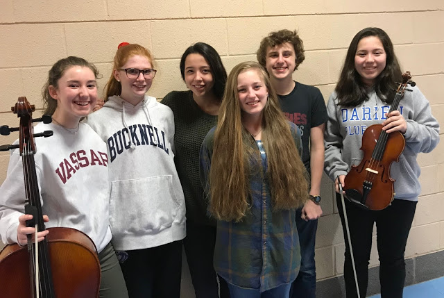 Music Students All State Darien HS