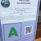 Darien Health Department Inspection Ratings