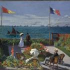 Monet Garden at Sainte Adresse 1867