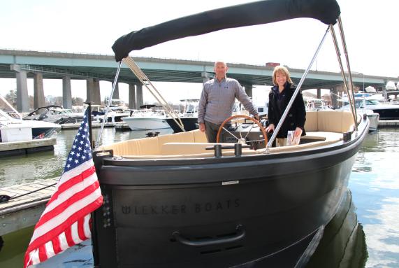 Patrick Jackson Lekker Boats Greenwich Boat Show 2018