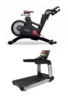 Treadmill bicycle Darien YMCA