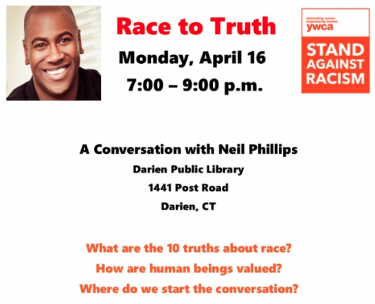 Poster for Race to Truth event