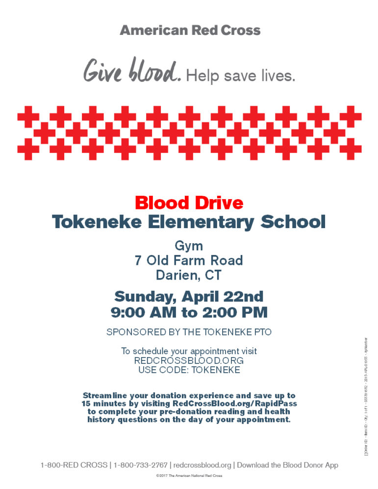Tokeneke School Blood Drive 2018