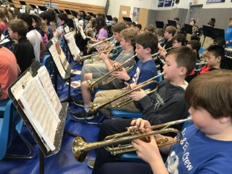 Darien Music Department Band Registration fourth fifth grades