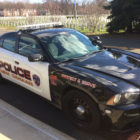 New Canaan Police Department patrol car in Darien