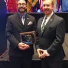 DHS Teacher Greg Darin and Richard Reynolds