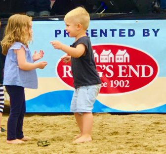 Toddlers Dance at Weed Beach Fest