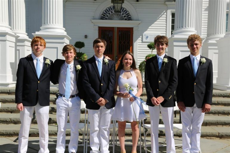 New Canaan Country School graduates, six from Darien