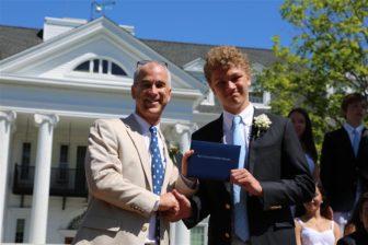 New Canaan Country School graduation Dariens Will Seiden