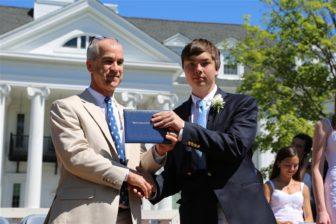 Tyler Galante graduation New Canaan Country School