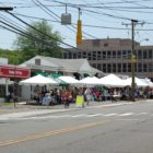 Darien Sidewalk Sales and Family Fiun Days 2018 tents