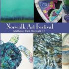 Norwalk Arts festival, part of the poster twenty eighteen