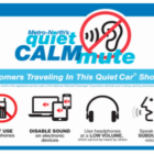 Quiet Calmmute signage