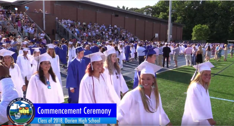 Processional DHS graduation 2018