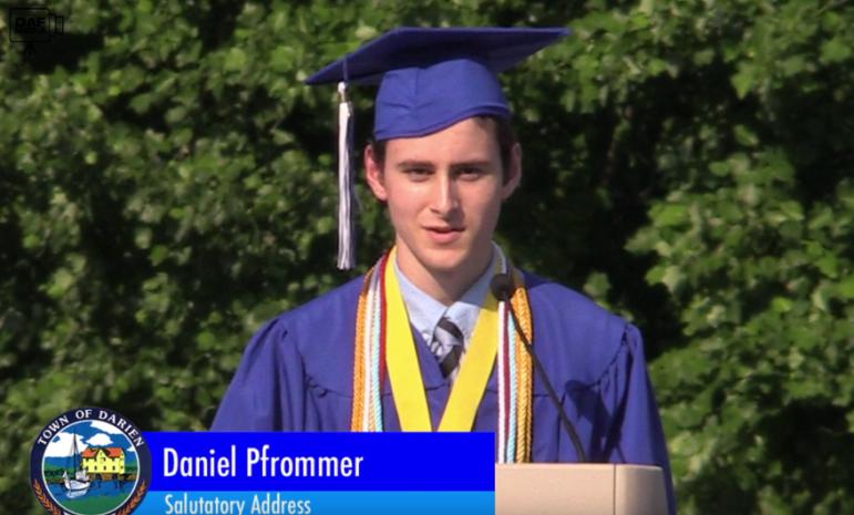 DHS Graduation 2018 Salutatorian Daniel Pfrommer