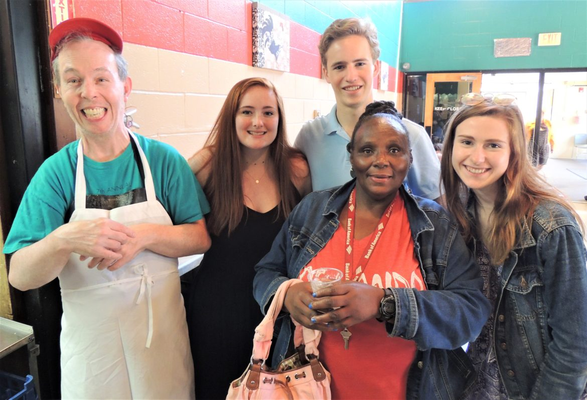 DHS students STAR employee clients