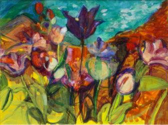 "Barbara Hawes painting ""Chrystal Garden Hermitage"""