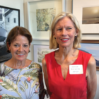 Rowayton Arts Center exhibit winners Nancy Gramps Joanna Bridges