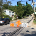 West Avenue utility closure