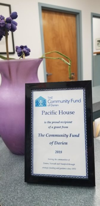 Community Fund of Darien to Pacific House