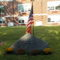 Darien 9-11 Memorial behind Middlesex school