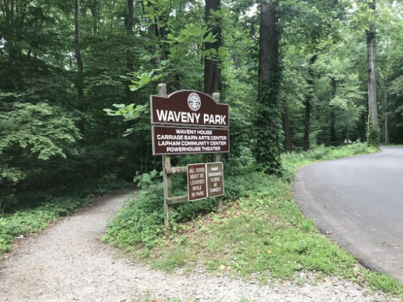 Waveny trail improvements 2018