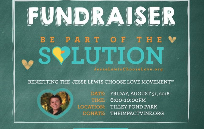 Jesse Lewis Choose Love fundraiser