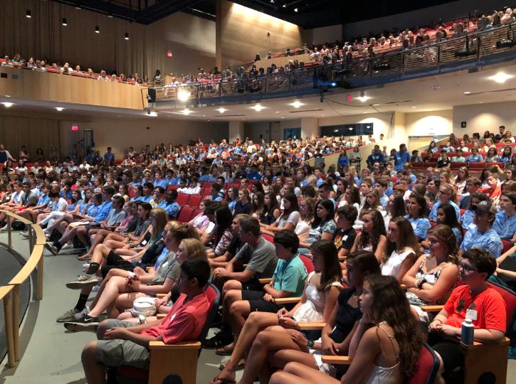 Freshmen Orientation Darien High School 2018