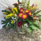 Flower arranging photo from the Darien Community Association