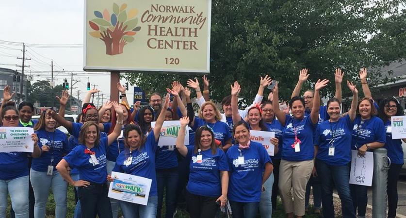 Ready Set Walk Norwalk Community Health Center 2018