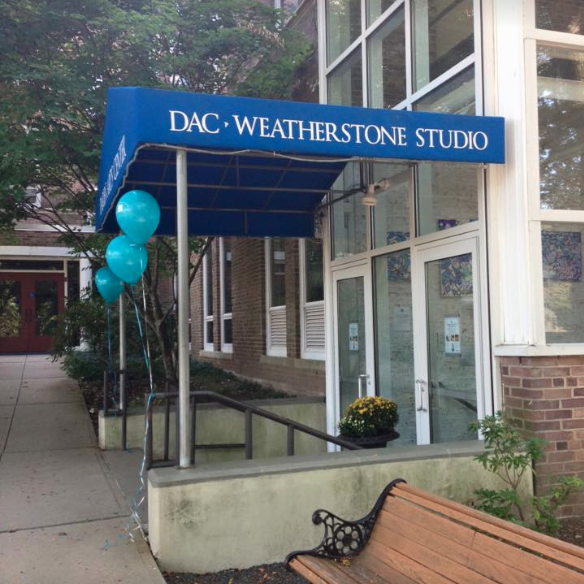 DAC Weatherstone Studio entrance daytime Thumbnail square