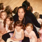 DAC Dance Director Bonnie Gombos with dance students Darien Ats Center DAC