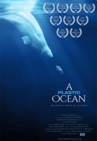 A Plastic Ocean movie poster
