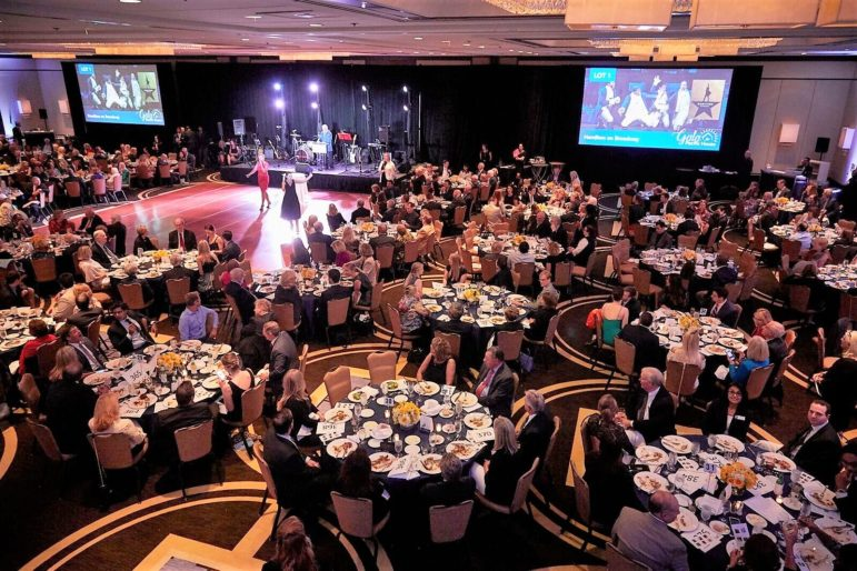 Ballroom gala fundraiser for Pacific House