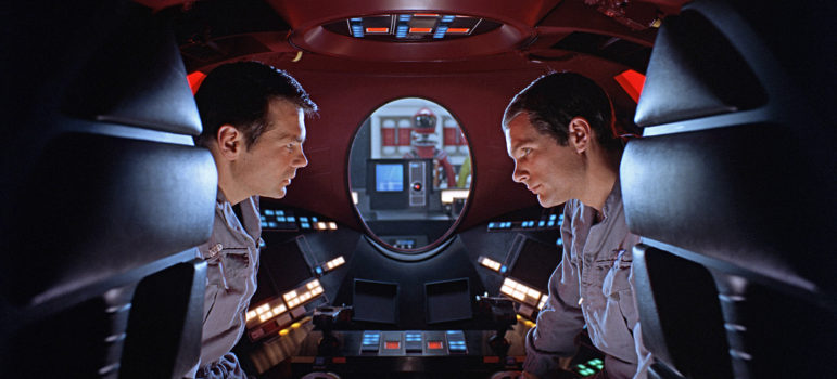 Astronauts and Hal 2001: A Space Odyssey