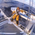 Swiss sailor Yvan Bourgnon The Ocean Rider Sebastien Devrient