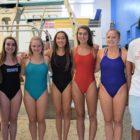 DHS Varsity Girls Diving Team
